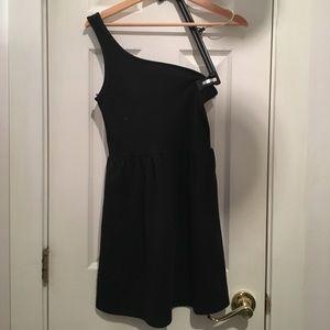 FOREVER 21 x XXI One Shoulder Skater Dress